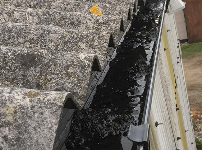 Gutter Cleaning in Combe